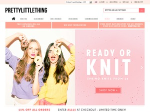 PrettyLittleThing website