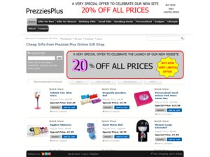 PrezziesPlus website