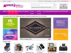 PrezzyBox website
