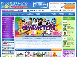 Price Right Home website