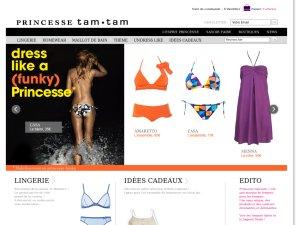 Princesse Tam Tam website