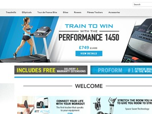 ProForm Fitness website
