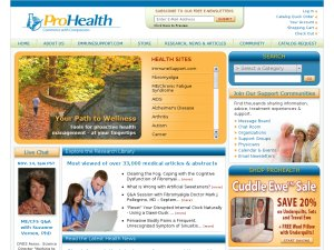 ProHealth website