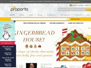 Proporta US & CA website
