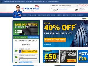 Protyre website