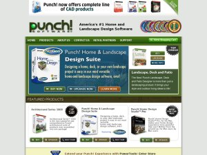 Punch Software website