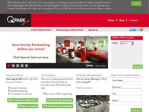 Q-Park website