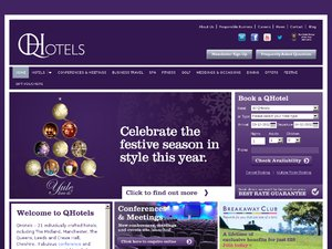 QHotels website