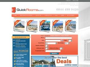 Quickrooms.com website