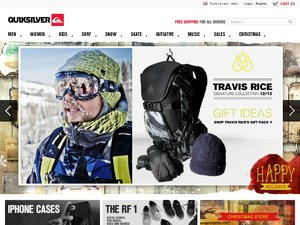 Quiksilver website