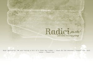 Radici website