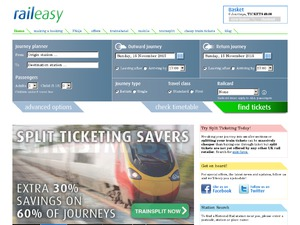 Raileasy website