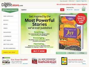 Reader's Digest website