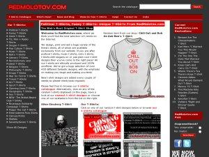 Red Molotov website