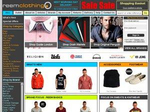 Reem Clothing website