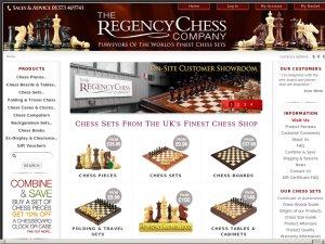 The Regency Chess Company website