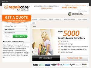 repaircare website