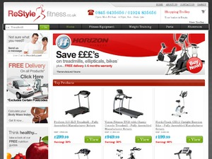 Restyle Fitness website