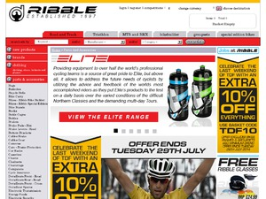 Ribble Cycles website