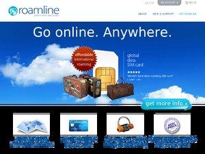 Roamline website