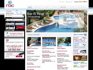 Roc Hotels website