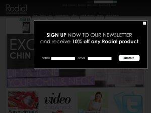 Rodial website