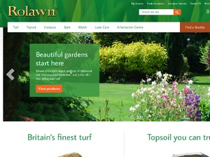 Rolawn Direct website
