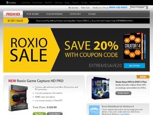 Roxio website