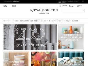 Royal Doulton website