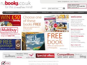RU Books website