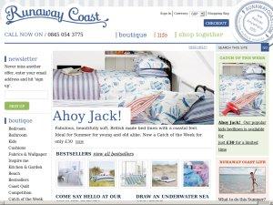 Runaway Coast website