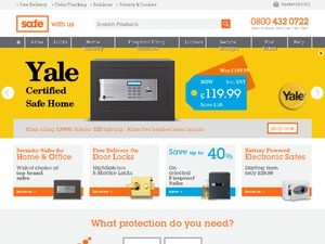 The Safe Shop website