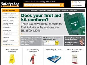 SafetyShop website