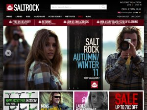 Saltrock website