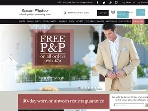 Samuel Windsor website