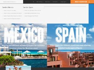 Sandos Hotels & Resorts Global website