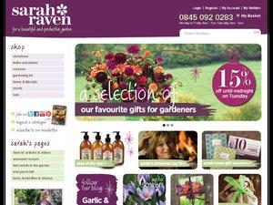 Sarah Raven website