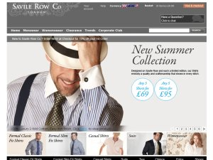 Savile Row website
