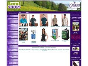 Scout Shop website