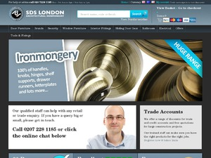 SDS London website