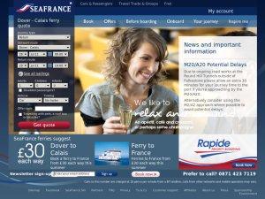SeaFrance website
