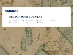 Sebago website