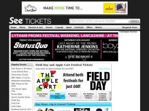 See Tickets website