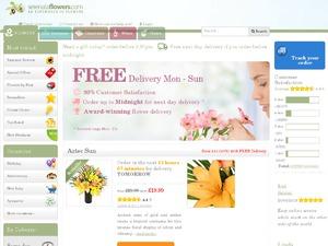 Serenata Flowers website
