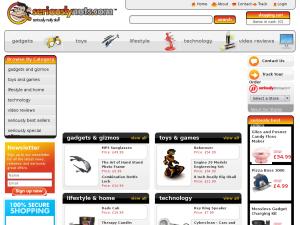 Seriouslystores website
