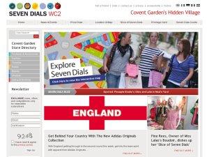 Seven Dials website