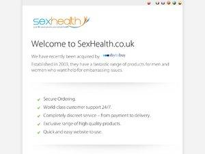 Sex Health website