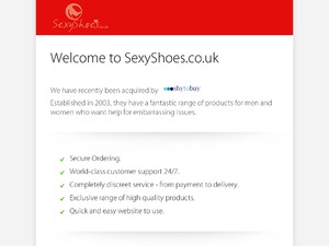 Sexy Shoes website