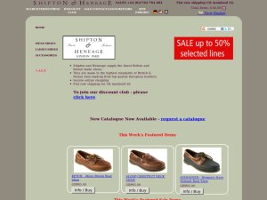 Shipton & Heneage Limited website