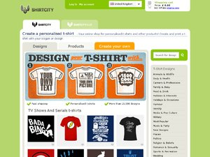 Shirt City website